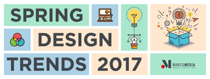 The Marcomedia guide to design trends for Spring 2017