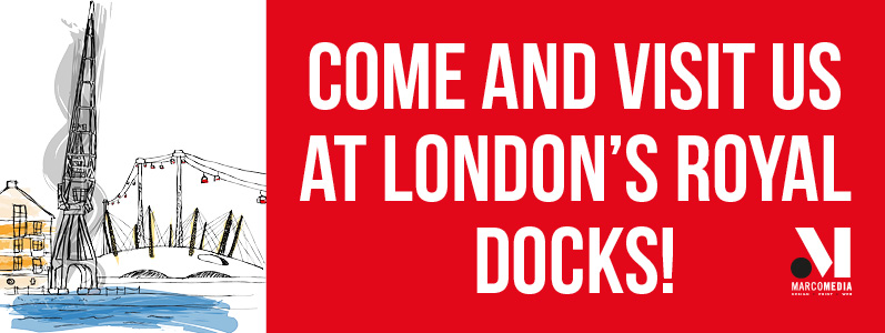 Come and visit us at London's Royal Docks!