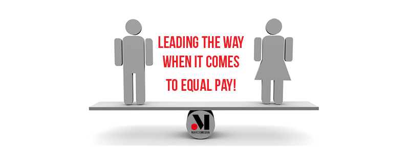 We're proud to lead the way when it comes to equal pay!