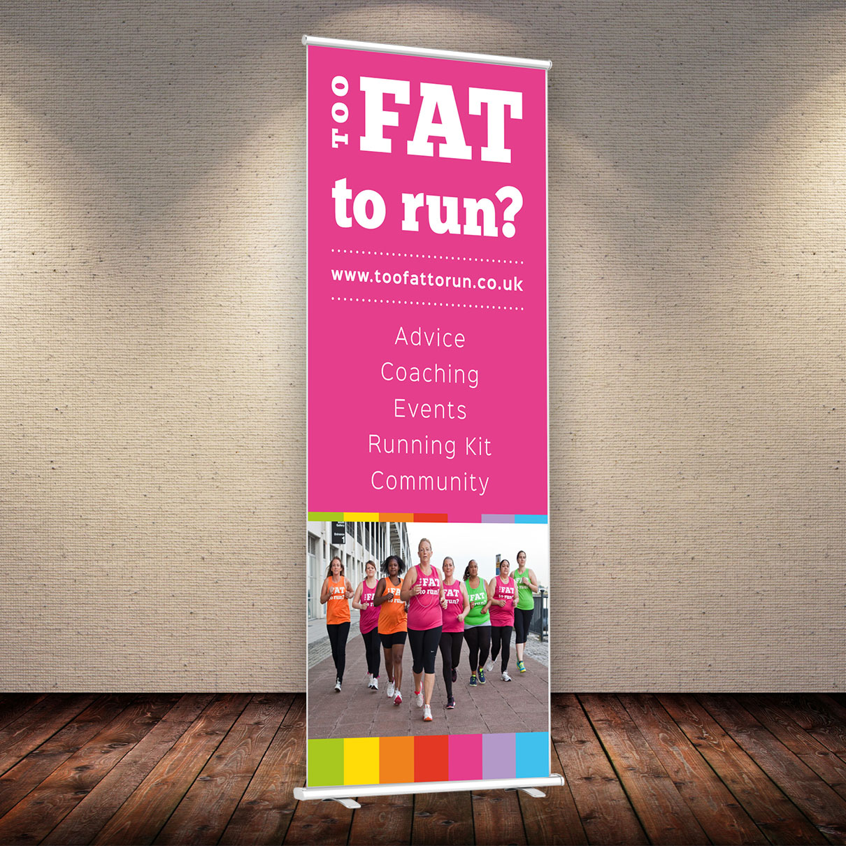 Fat Girls Banner