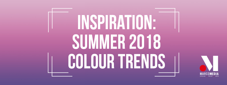 Inspiration: Summer 2018 colour trends