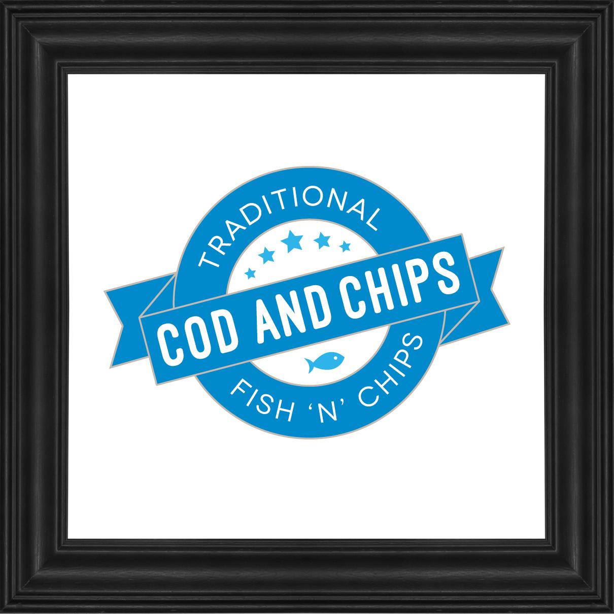 Cod Chips Logo