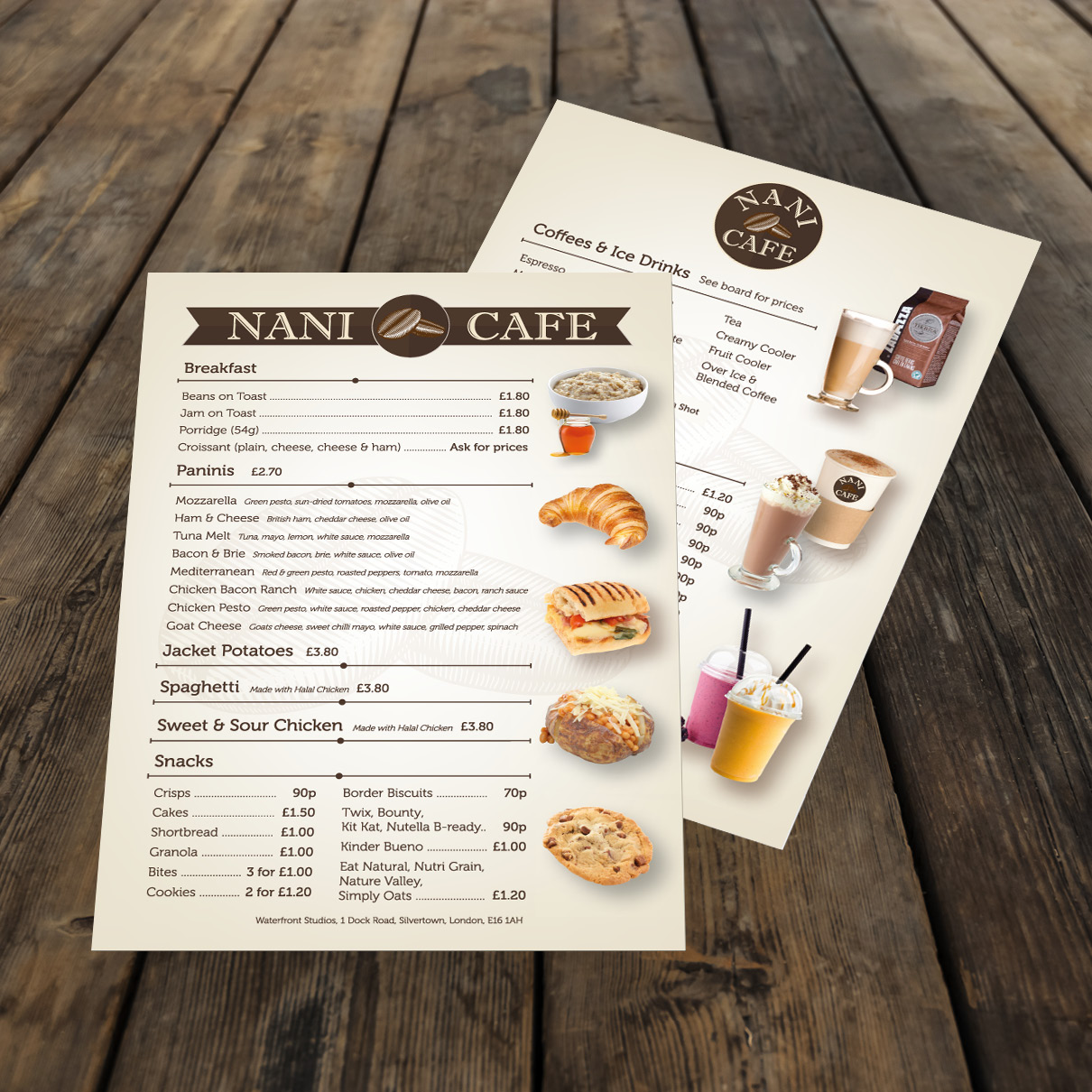 Nani Cafe Menu 2
