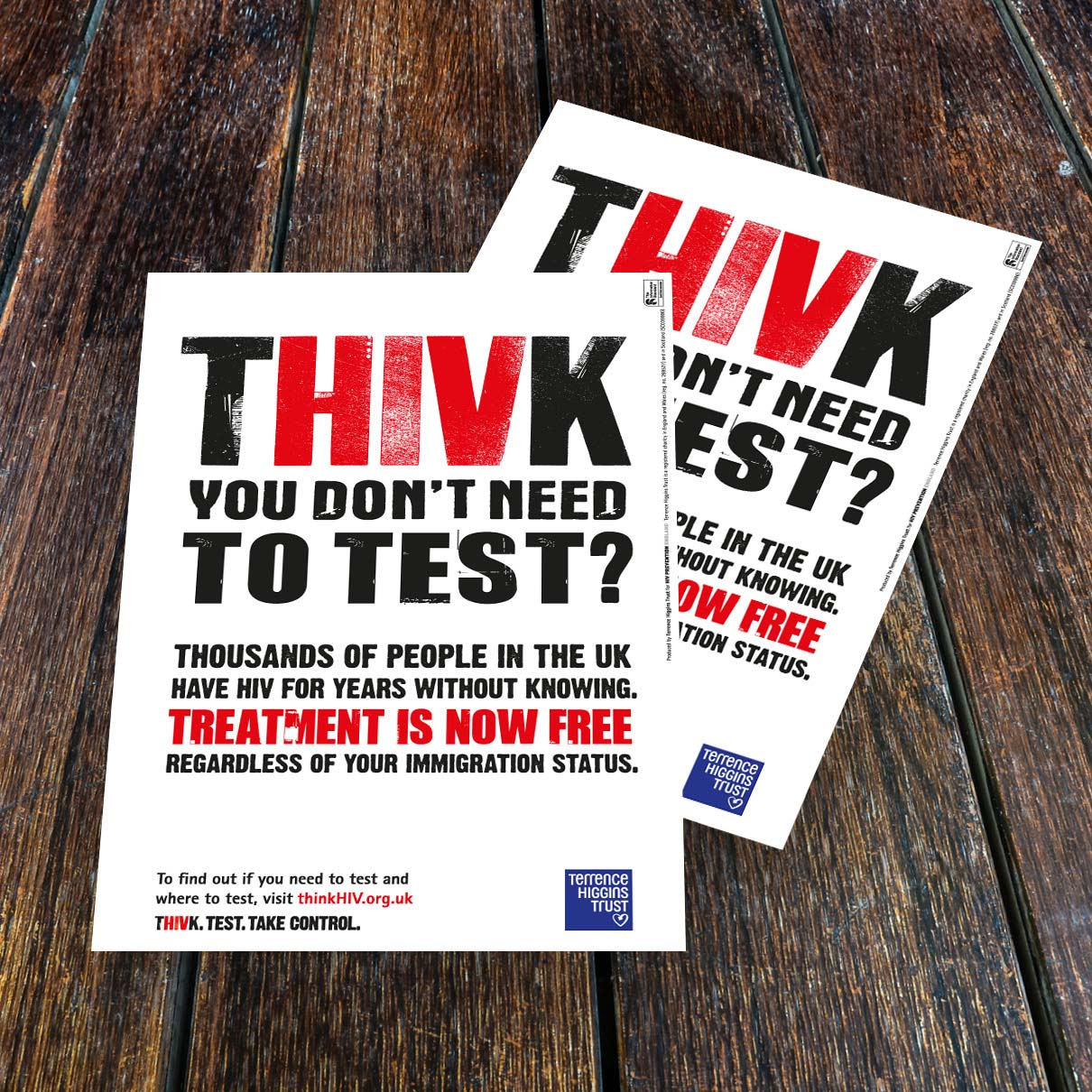 NHS A4 Thivk Poster