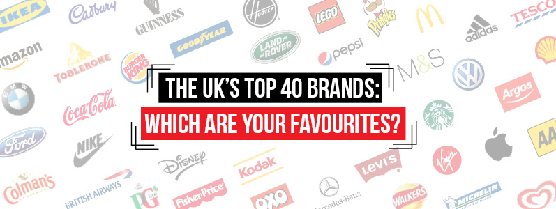 The UK's top 40 brands: Which are your favourites?