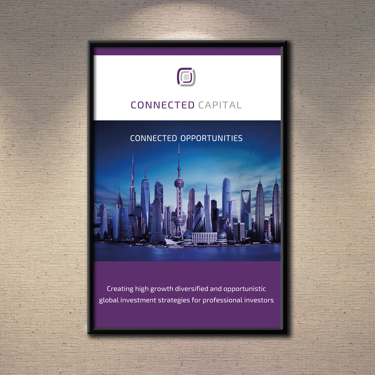 Connected Captial Poster
