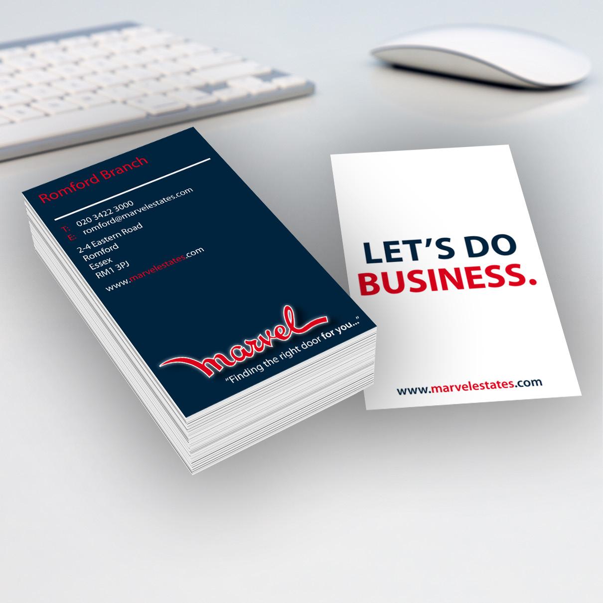 Marvel Business Card