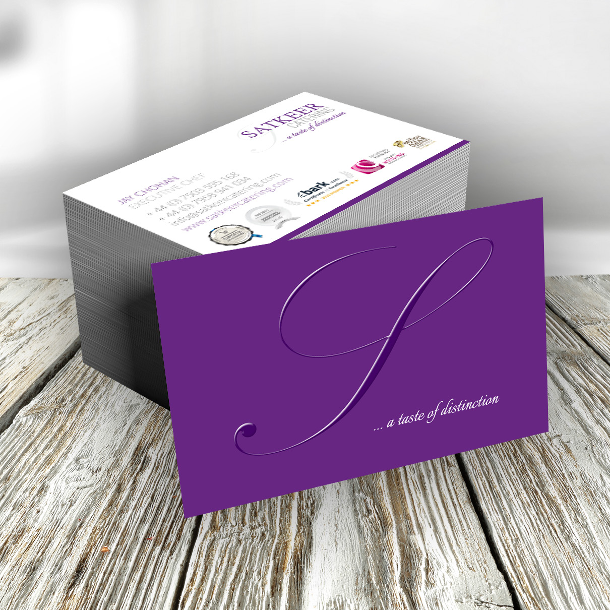 Satkeer Business Card