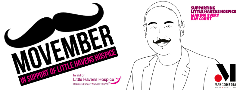 Help Surinder raise money for Little Havens Children's Hospice this #Movember!