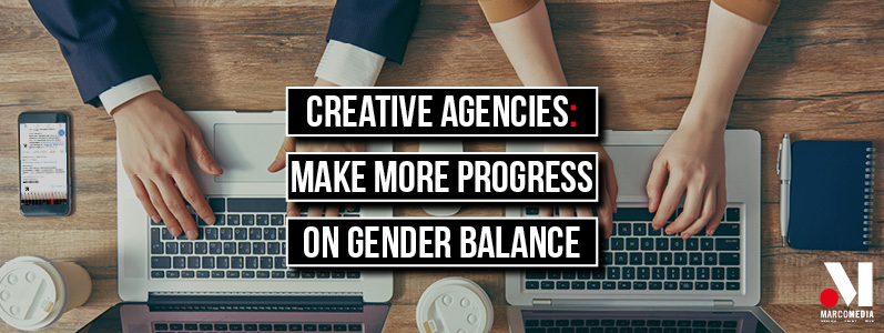 Creative agencies told to make more progress on gender balance