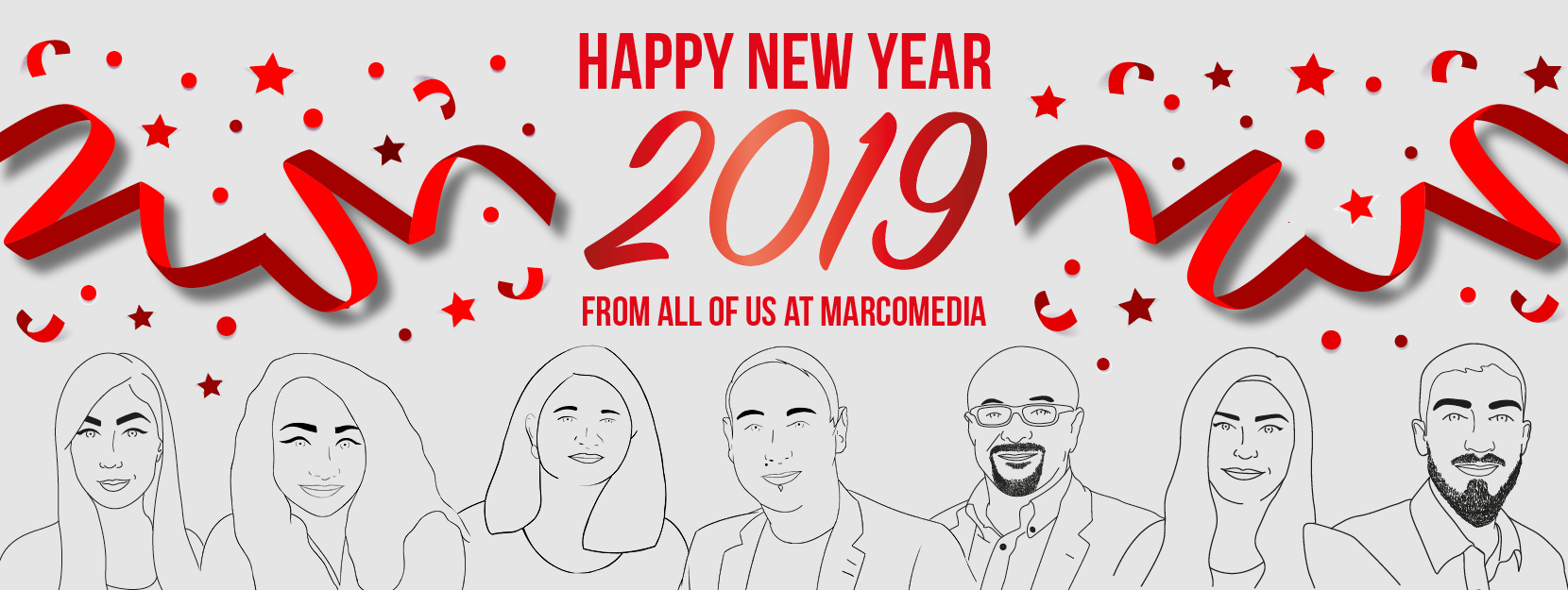 Happy New Year from all of us at Marcomedia