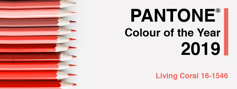 Freshen up your brand for 2019 with Pantone's colour of the year