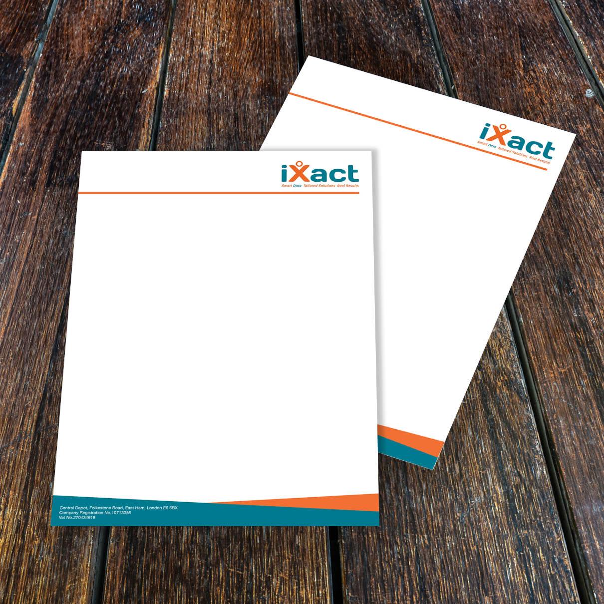 iXact Letterhead