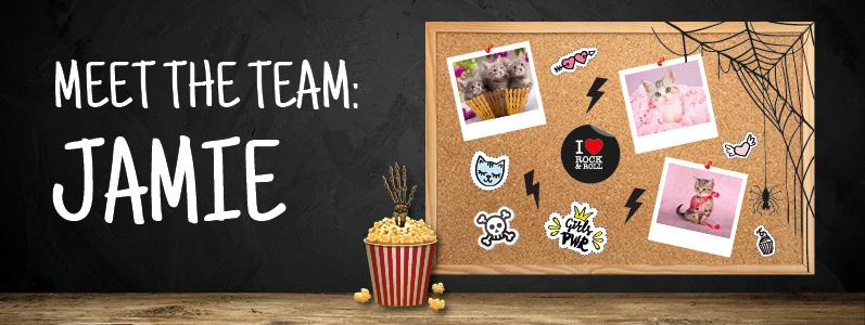 Meet the Team: Jamie, Graphic Designer