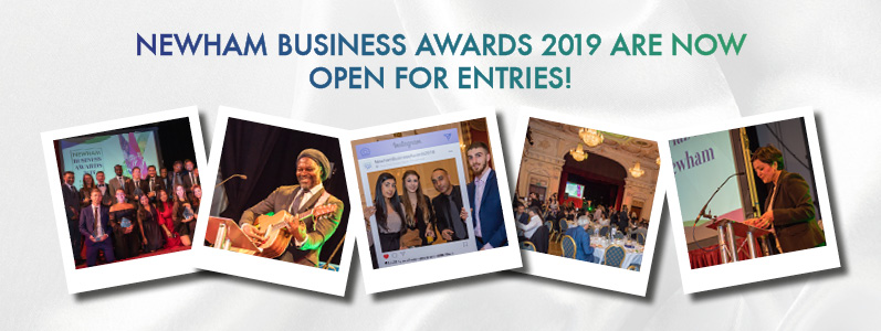 Newham Business Awards 2019 are now OPEN for entries!