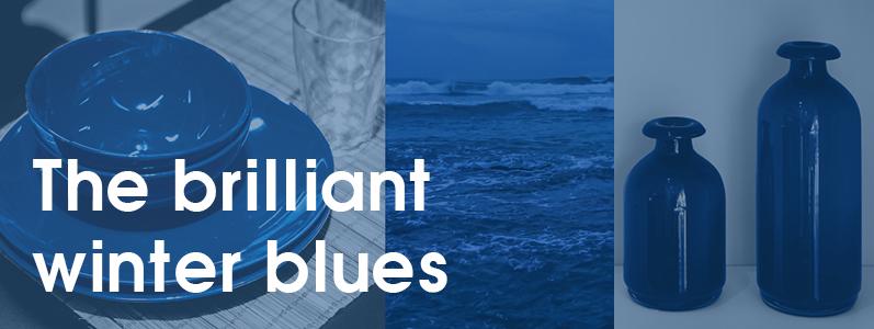 The brilliant winter blues