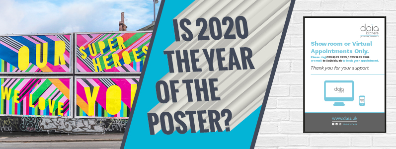 Poster Power: Is 2020 the year of the poster?
